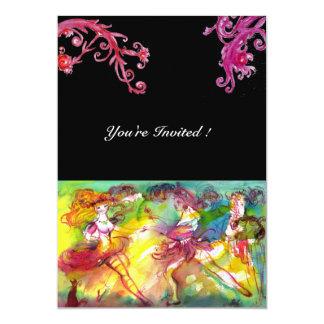 CARNIVAL BALLET / Venetian Masquerade, Dance Music Card