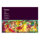 CARNIVAL BALLET / Venetian Masquerade,Dance,Music Pack Of Chubby Business Cards