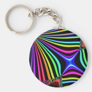 Carnival Basic Round Button Key Ring