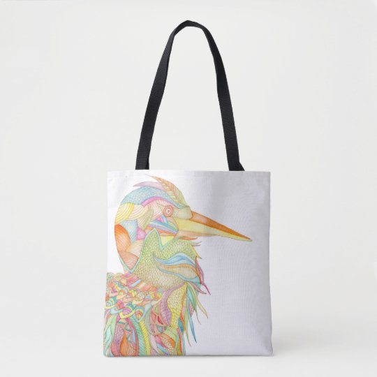 Carnival bird original tote
