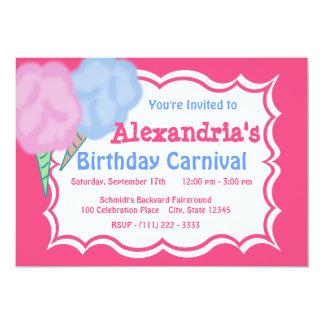 Carnival Birthday 13 Cm X 18 Cm Invitation Card