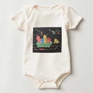 Carnival Boat Ride Baby Bodysuit
