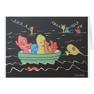 Carnival Boat Ride Card