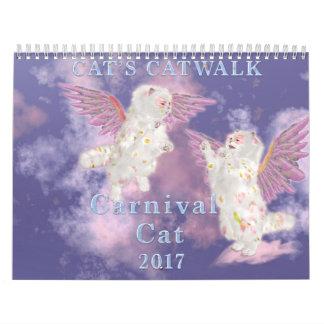 Carnival Cat 2017 Calendars