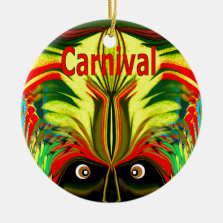 Carnival Christmas Ornament