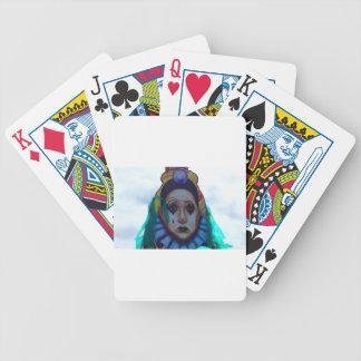 Carnival Clown Design Bicycle Poker Deck