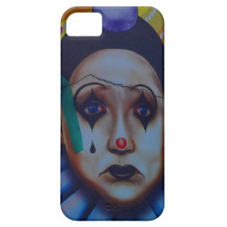 Carnival Clown Design iPhone 5 Cases