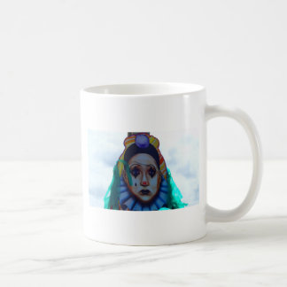 Carnival Clown Design Coffee Mug
