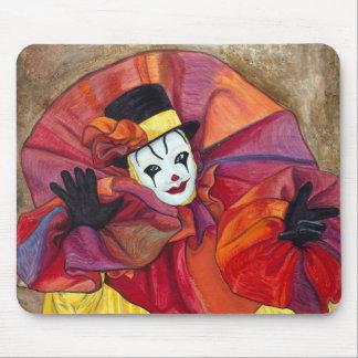 Carnival Clown Mouse Mat