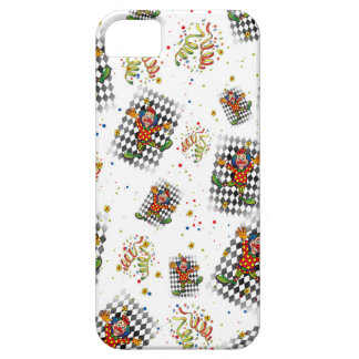 carnival,clown,streamer,kid,party fun cirus case for the iPhone 5