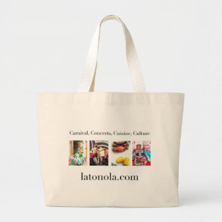 Carnival, Concerts, Cuisine, Culture Jumbo Tote Bag