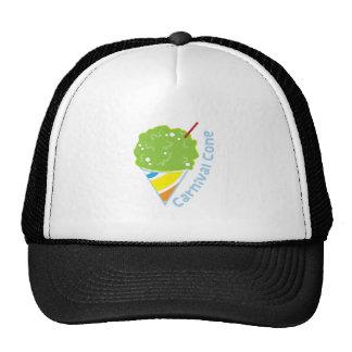 Carnival Cone Mesh Hats