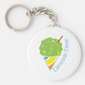 Carnival Cone Key Chains