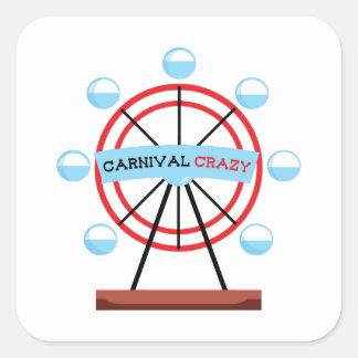 Carnival Crazy Sticker