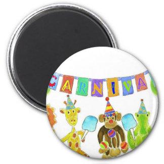 Carnival Critters Fridge Magnets