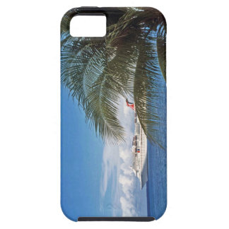 Carnival cruise ship docked at Grand Cayman Island iPhone 5 Cases