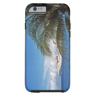 Carnival cruise ship docked at Grand Cayman Island Tough iPhone 6 Case