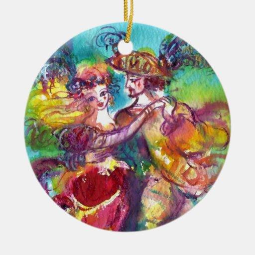 CARNIVAL DANCE CHRISTMAS ORNAMENT