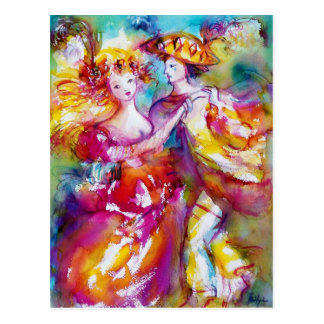 CARNIVAL DANCE POST CARDS