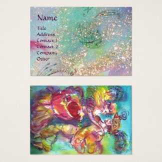 CARNIVAL DANCE / Venetian Masquerade Ball Business Card