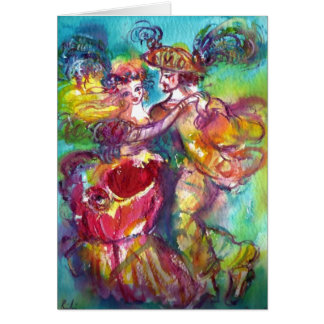 CARNIVAL DANCE / Venetian Masquerade Ball Card