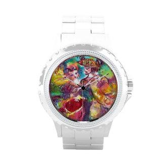 CARNIVAL DANCE / Venetian Masquerade Ball Wrist Watches
