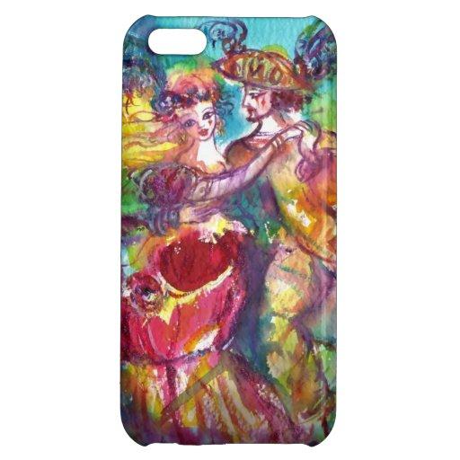 CARNIVAL DANCE Venetian Masquerade Ball iPhone 5C Covers