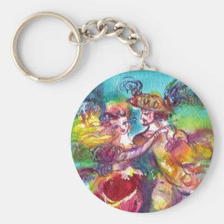 CARNIVAL DANCE Venetian Masquerade Ball Key Chain