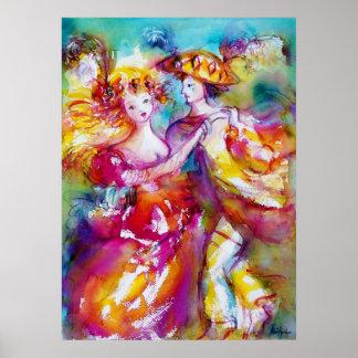 CARNIVAL DANCE Venetian Masquerade Ball Posters
