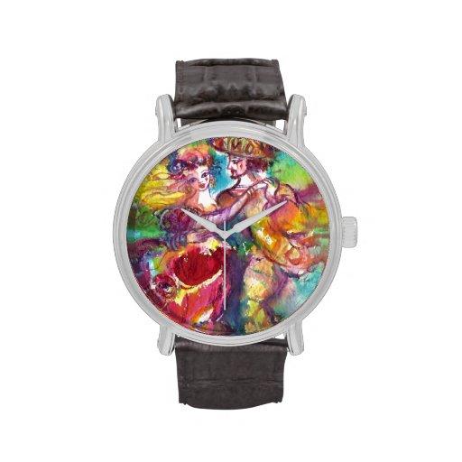 CARNIVAL DANCE / Venetian Masquerade Ball Wrist Watch