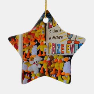 Carnival Days Lucky Ducky Ceramic Star Decoration