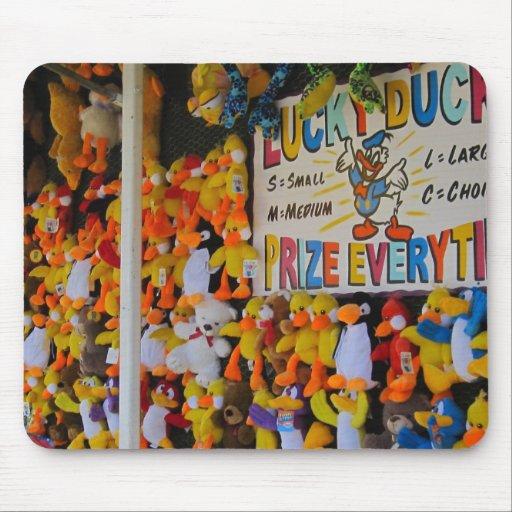 Carnival Days Lucky Ducky Mousepads