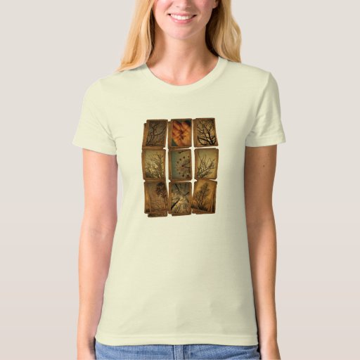 Carnival, Dragonflies, Trees Tee Shirt
