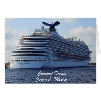 Carnival Dream Card