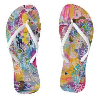 Carnival Flip Flops