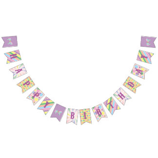Carnival - Funfair -Pastel - Birthday - Shower Bunting