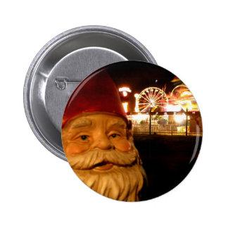Carnival Gnome 6 Cm Round Badge