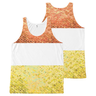 Carnival (Goldish version) Unissex All-Over Print Tank Top