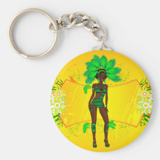 carnival green girl.ai keychains