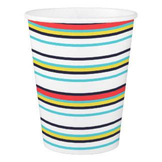 Carnival Horizontal Stripe Paper Cup