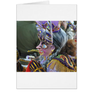 Carnival in Oruro, Bolivia Greeting Cards