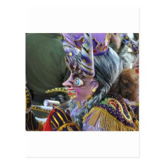 Carnival in Oruro, Bolivia Postcard
