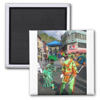 Carnival in Trinidad 2010 Magnet