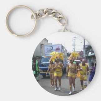 Carnival in Trinidad Key Chain