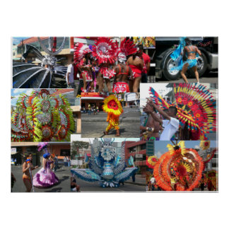 Carnival in Trinidad Poster