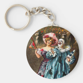 Carnival: Jolly Comrades Basic Round Button Key Ring