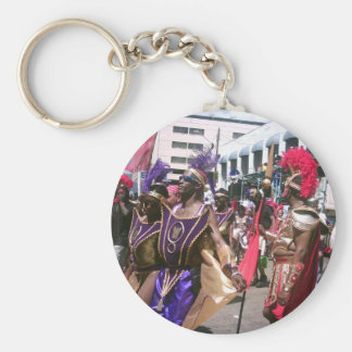 Carnival Basic Round Button Key Ring