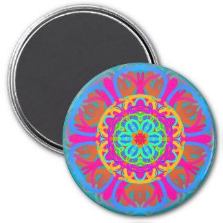 Carnival Mandala Magnet