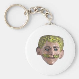 Carnival Mask Key Chain