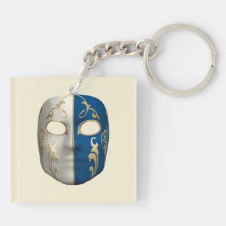 Carnival Mask Acrylic Key Chain